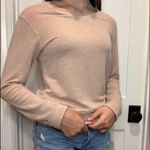 Light Pink Crewneck Sweatshirt
